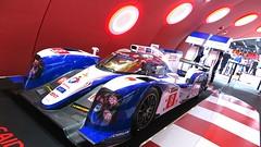 Toyota Hybrid con el que disputó  las  24 Horas de Le Mans
