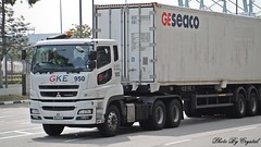Mitsubishi Fuso FV470J1 (Waverly Fan) Tags: port truck gateway psa logistics inter haulage gke