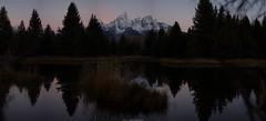 TetonPano2WM (LXII Photography) Tags: mountains sunrise landscape outdoors yellowstone wyoming grandtetons tetons schwabacherslanding