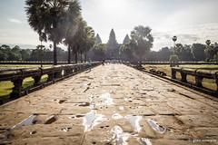 Siem.Reap.12 (ginomempin) Tags: sun temple cambodia glare pavement path angkorwat siemreap canon1022