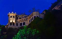 julius castle (pbo31) Tags: sanfrancisco california blue autumn color green castle northerncalifornia night dark nikon october jacksonsquare telegraphhill d800 lombardstreet 2014 juliuscastle