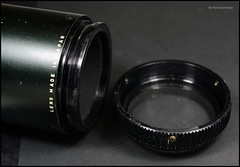 INA 200mm 4.5 Tele Lens (04) (Hans Kerensky) Tags: lens cone 45 mount adapter tele universal ina miranda flange m44 removed 200mm anywhitefieldtagbyflickrsspamtagbot