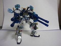 1/144 HG Gumdam heavy arms custom metal clear (Curryramen) Tags: hg 1144 gumpla