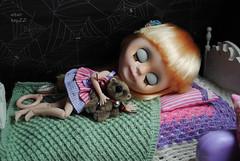 13 mit Brumm (Zhanna Zolotina) Tags: bear doll teddy handmade ooak dollhouse blyh