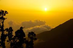 Sunset, Triund (sachin.verma) Tags: india sony alpha himalaya 77 mothernature slt mcleodganj himachalpradesh triund triundtrek slta77v