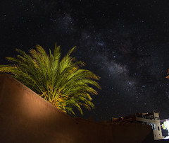 welcome to  paradise (Koen_vd) Tags: sky night stars photography ben astro morocco milkyway aït haddou tamron1750