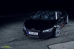 Audi R8 V10 Spyder (Simninja) Tags: spyder led audi v10 quattro r8 sportwagen grosglockner homeofquattro