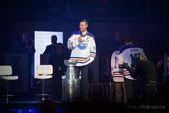 Wayne Gretzky - Edmonton Oilers 1984 Stanley Cup Reunion