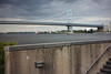 Ben Franklin Bridge and Delaware