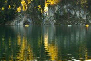 Between autumn & darkness - 1 (Alpsee, Bayern)