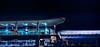 amoebas pre-releasing (pbo31) Tags: california motion black blur color art fall station night dark oakland oak nikon october track bart transit eastbay elevated alamedacounty d800 oac 2014 ameoba lightstream oaklandinternationalairport airportconnecter