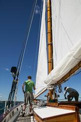 Crew At Work (jomak14) Tags: rhodeisland newport fullframe canoneos1ds tamronspaf2875mmf28 jomak14 lightroom5 sailingaboardtheschooneradirondackii