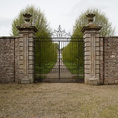Haddo Walled Garden Gates (itmpa) Tags: canon square gates 19thcentury crop cropped 18thcentury listed 6d 2014 studytour relocated ahss categoryb gatepiers johnbaxter canon6d tomparnell architecturalheritagesocietyofscotland itmpa mid18thcentury archhist