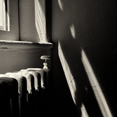* (donvucl) Tags: light shadow monochrome composition interior squareformat lightandshade donvucl fujix100s
