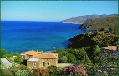 Panoramic View - Andros * Cyclades - Piso Gialia cove