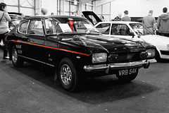 Vintage Capri (digithill) Tags: red bw black classic ford car capri colourpop ingilston scottishcarshow2014 ingilstonshowground