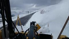 October 1, 2014 - An early fall snowstorm closes Trail Ridge Road. (RMNP)