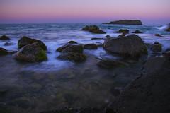 last light at fingal heads (jakecluleephotos) Tags: longexposure seascape beach fingal fingalheads