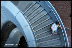 Moving Forward Or Backward in Democracy? - Woodward N15939e (Harris Hui (in search of light)) Tags: canada architecture vancouver stairs democracy blurry nikon waiting bc candid streetphotography richmond slowshutter curve dov forward upward woodwards downward spiralstairs backward d300 doorsopen downtownvancouver streetcandid blurrypeople nikon18200mmvr nikonuser climbthestairs vancouverarchitecture nikond300 realdemocracy harrishui vancouverdslrshooter  occupyhongkong occupycentral  dpowntown civiliandisobedience visitthebuildingsinvancouver doorsopenvancouver woodwardsspiralstairs  woodwardscomplex