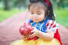 "Eva ""Snow White"" 2014 | 015 (@iseenit_RubenS | R.Serrano Photography) Tags: baby 6 white snow halloween apple costume outfit dof character disney fairy snowwhite ideas tale 2014 disneys babyphotography"