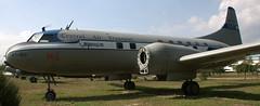 Convair 240 XT-610 (707-348C) Tags: china museum chinese beijing airliner convair propliner cv240 datangshan xt610