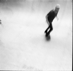 low rider (Traveling with ghosts) Tags: skate isolette fomapan
