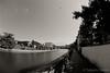 black kite (Takeshi Nishio) Tags: nikonf100 白黒 fujiacros100 o56 ei100 フィルム 16mmfisheye ネガ 浅野川小橋サイド定点観測 spd1120deg65min filmno802