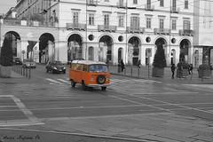 Pulmino volkswagen (MarcYz184) Tags: street volkswagen torino nikon 1855 fotografia turin 2014 pulmino d3100