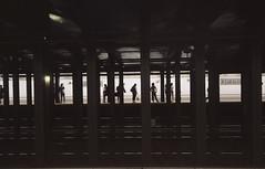 IMG_0857 (ais3n) Tags: street new york city nyc summer station st canon subway lens eos prime metro manhattan silhouettes sigma august uptown 7d 23rd 2014 30mm ais3n