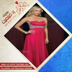 فستان سواريه طويل _ رد فيلفيت (red.velvet_boutique) Tags: 2015 طويل فستان موضه سواريه