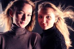 Russian Girls (Beer Klongklaew) Tags: blue winter girls london beer beauty fashion portraits hair studio fan university photoshoot blow east blonde url russian klongklaew