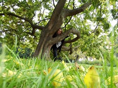 A tree.. (Ms Kat) Tags: park selfportrait tree me prague michelle praha 4552 mrowrr