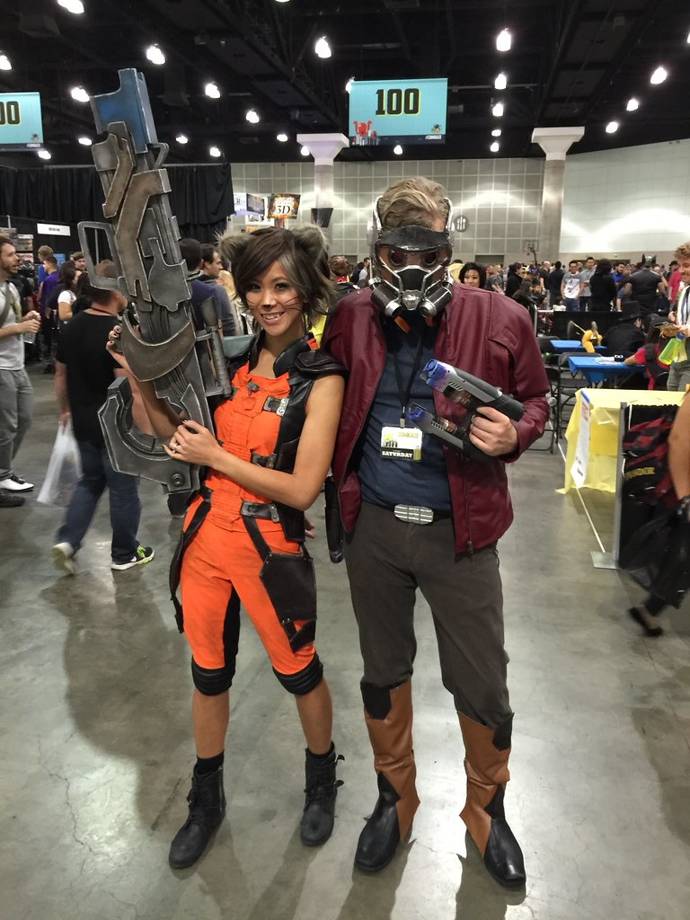 The worlds best photos of comikaze and raccoon flickr hive mind rocket raccoon and star lord the stylish geek tags cosplay rocket raccoon starlord solutioingenieria Choice Image