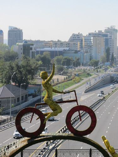 Almaty: Cycling city?