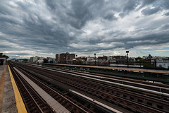 clouds over queens (eligit) Tags: nyc clouds wideangle queens