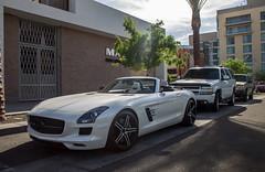 Mercedes-Benz SLS AMG Roadster (Hertj94 Photography) Tags: arizona mercedes benz march scottsdale sls amg roadster 2014