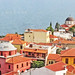 Macedonia, Kavala old town and Aegean sea view from the castle hill, Greece #Μacedonia