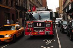 FDNY Engine 14 (Triborough) Tags: nyc newyorkcity ny newyork manhattan engine firetruck fireengine unionsquare fdny greenwichvillage seagrave newyorkcounty newyorkcityfiredepartment engine14