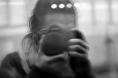 self (Kelsey_Gwynne) Tags: portrait blackandwhite white selfportrait black reflection window girl self lens photography nikon bokeh free shift tilt selfie tiltshift d90 freelens
