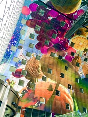 The new Markthal, Rotterdam (nOttico) Tags: food colour rotterdam colours blaak markt markthal