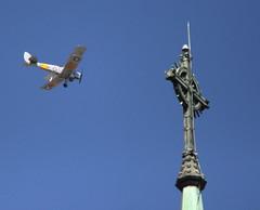 planespire1013_RT8 (Greg Considine) Tags: spire tigermoth biplane lightningrod