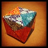 Don't Box Me In. Iro Bako - Color Cube In Celebration Of World Origami Days & Art Every Day Month #wod2014 #aedm2014 #studiojoy #origami #tw