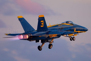 Blue Angels #3  F/A-18 Hornet