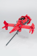 Cowboy Bebop Swordfish II (marshal banana) Tags: red anime cowboy lego space ii spike sciencefiction spaceship cowboybebop bebop spacecraft swordfish spacefighter swordfish2
