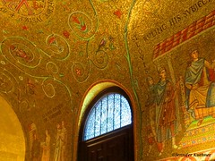 Cathedral Mosaics (jenn.kuehner) Tags: st louis cathedral chapel light gold