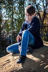Deep In Thought (Chris Lemmen (PIL Photo)) Tags: 2016 50d brooding gritty grungy hoodie jacob jrhighshoot