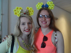 Disneyland Paris 2016 (Elysia in Wonderland) Tags: disneyland paris disney france theme park joe elysia lucy holiday 2016 minnie ears homemade yellow flowers