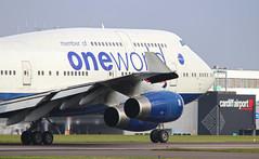 G-CIVI Boeing 747-400 (Cloudsurfer_UK) Tags: cardiffairport wales aviation aircraft avgeek airliner 747 747400 oneworld britishairways