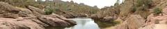 Panoramic of reservoir at Pinnacles (Craigs Travels) Tags: panorama pinnacles nationalpark reservoir mosesspringtrail beargulch hike hiking