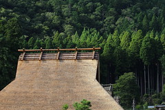 Roof (Teruhide Tomori) Tags: roof architecture building house construction tradition wooden japan kyoto countryside miyama